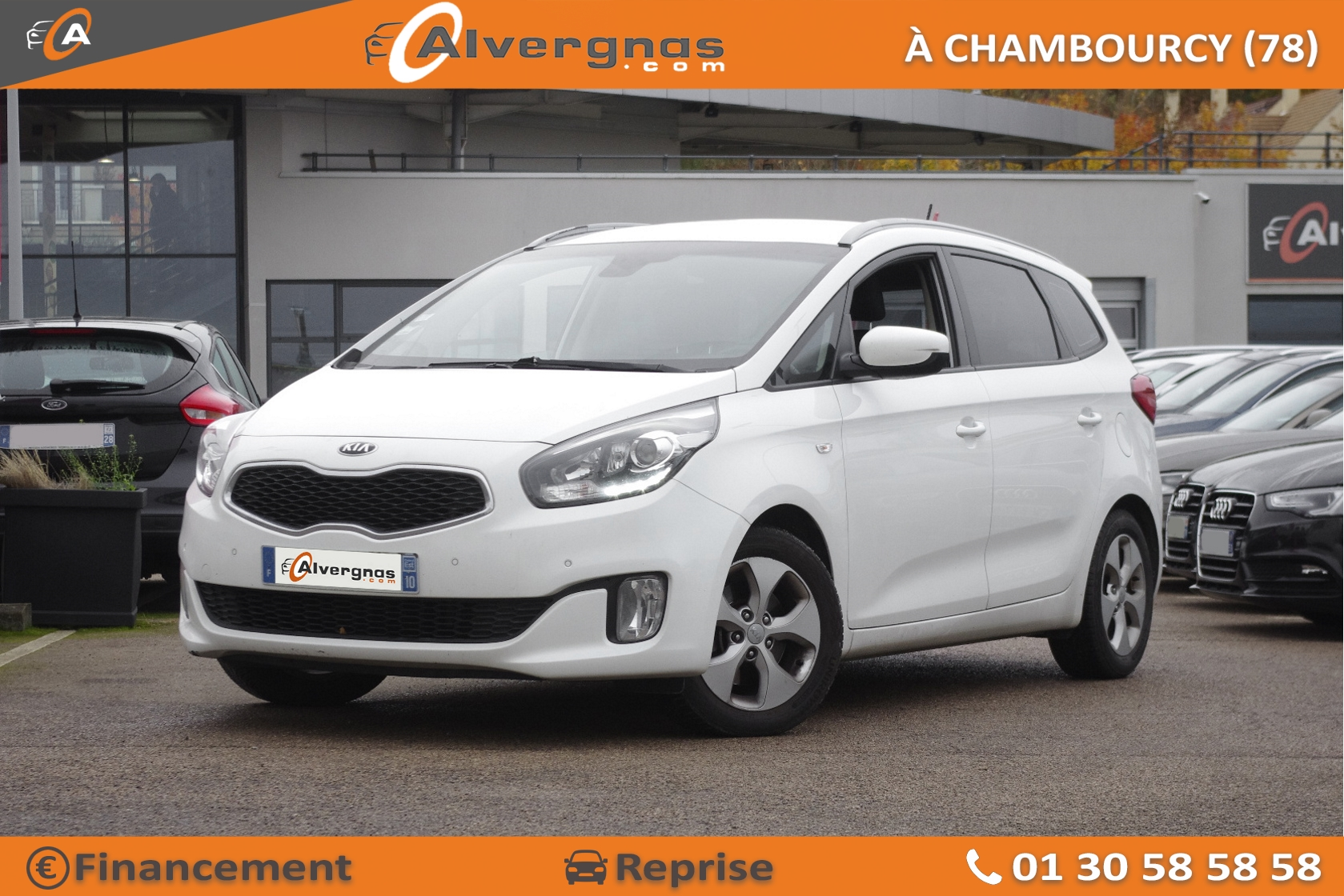 KIA CARENS d'occasion sur Paris