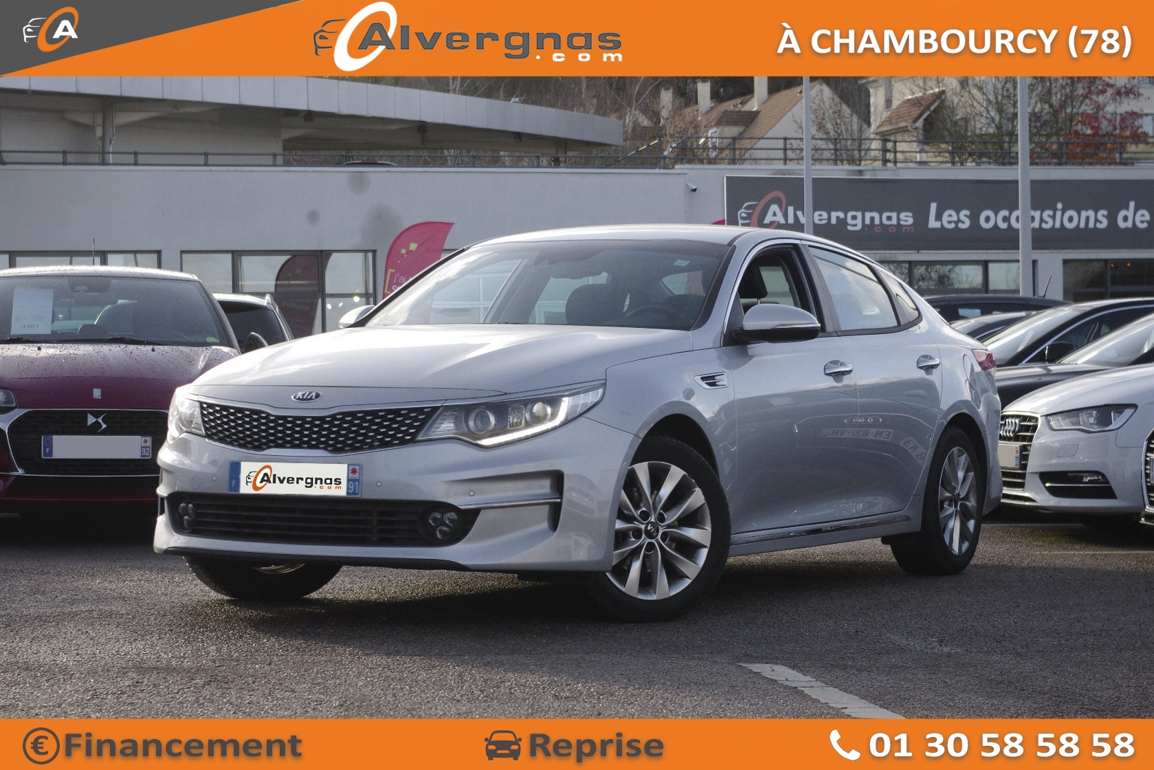 KIA OPTIMA d'occasion sur Paris