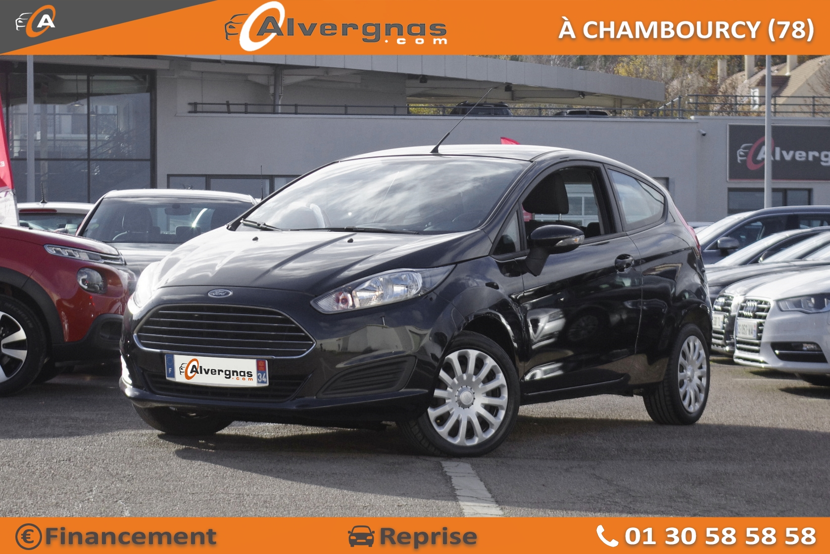 FORD FIESTA d'occasion sur Paris