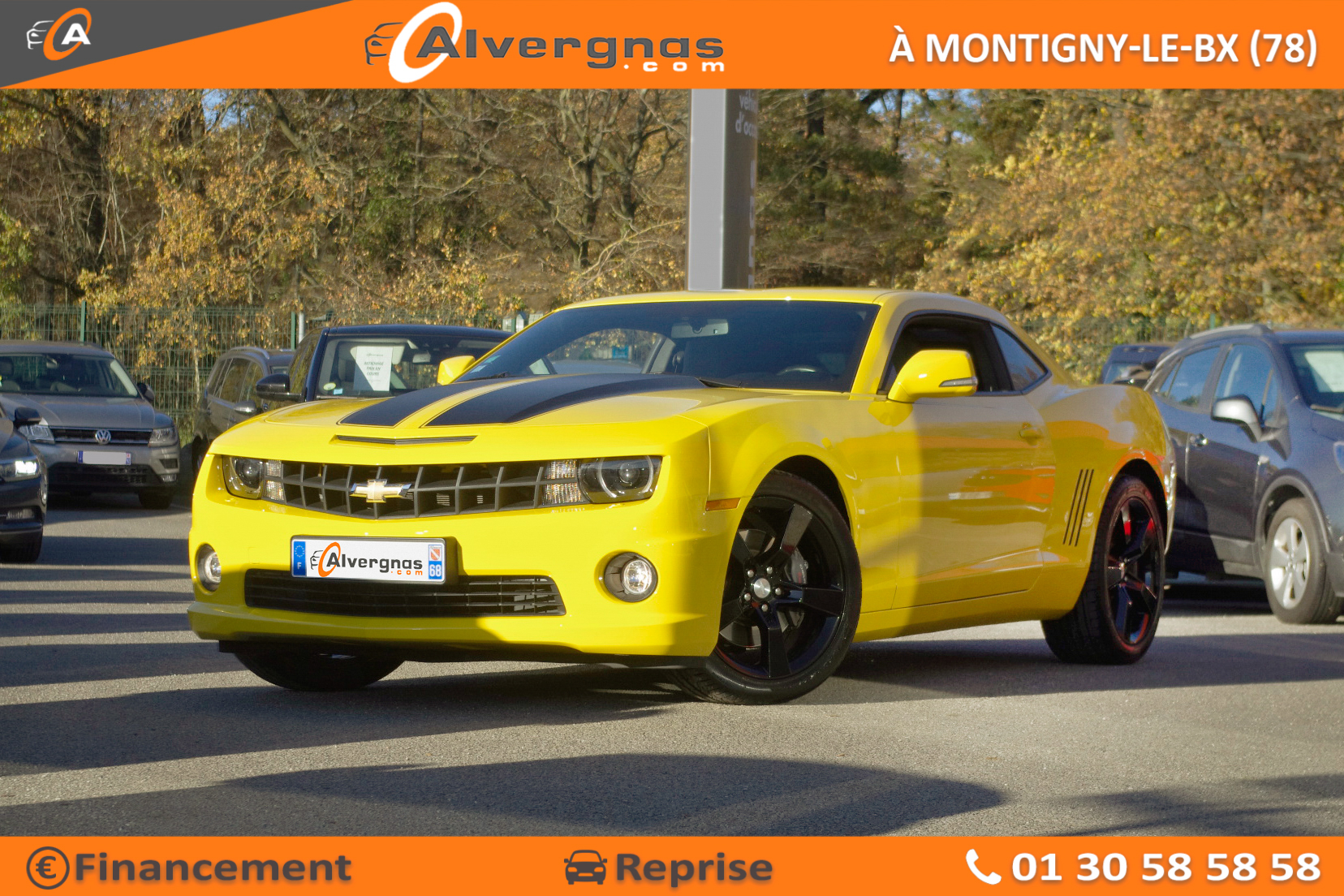 CHEVROLET CAMARO COUPE d'occasion sur Paris