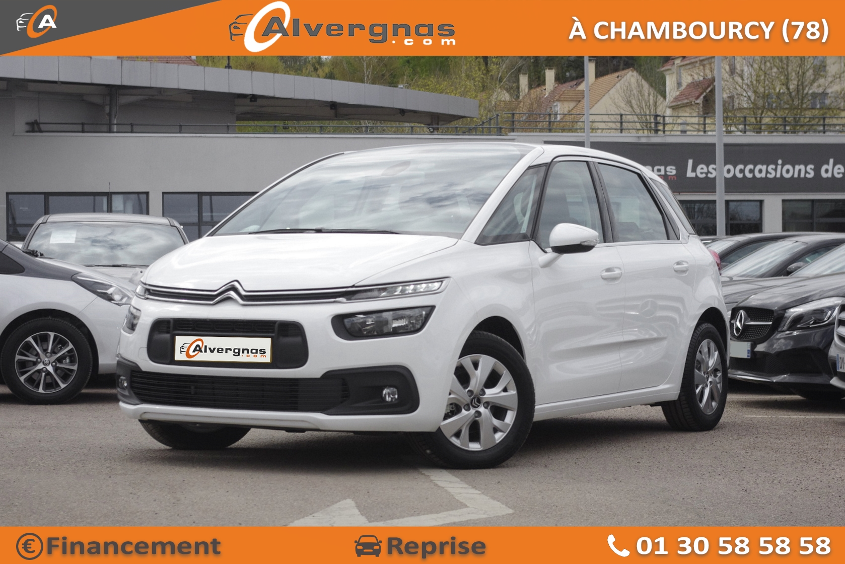 CITROEN C4 SPACETOURER d'occasion sur Paris