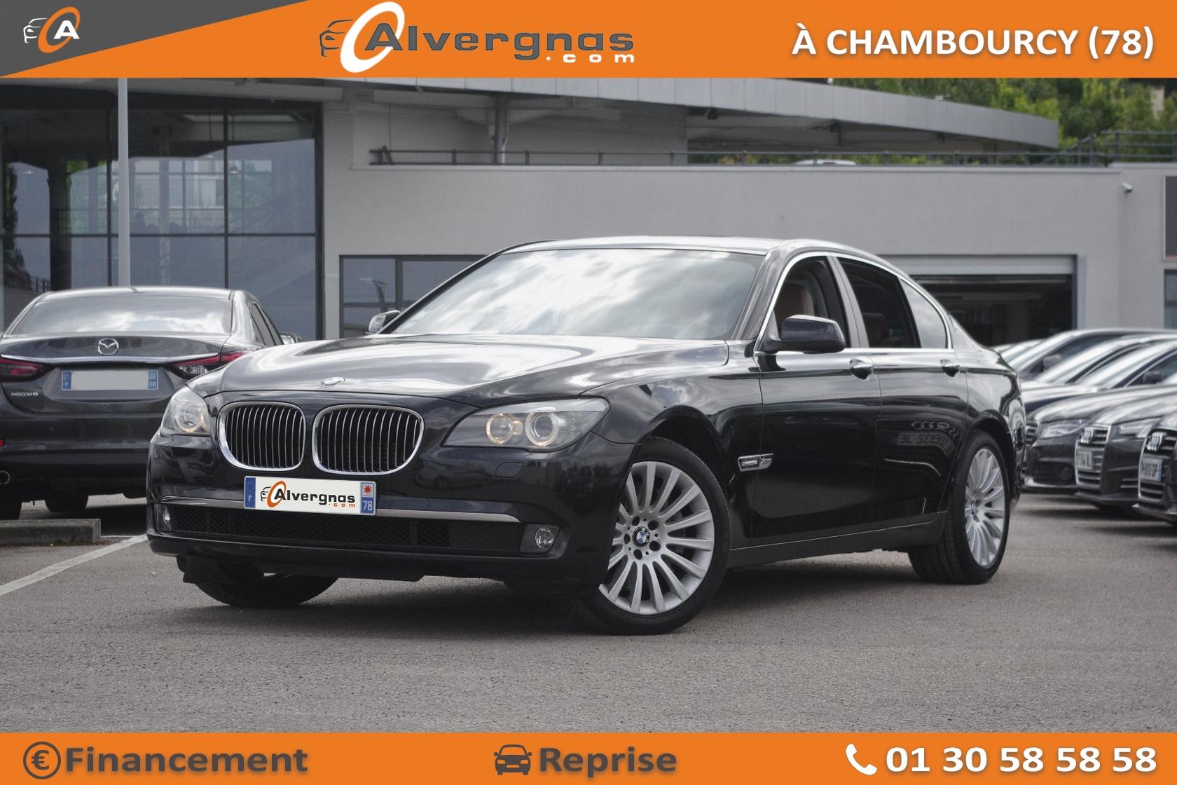 BMW SERIE 7 d'occasion sur Paris